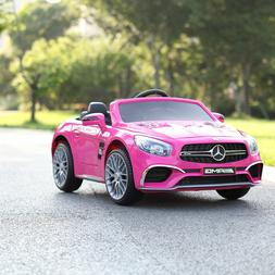 12V Mercedes Benz Kids Ride On Car Battery Powered W/ Remote