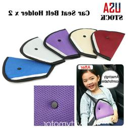 2pcs Car Seat Safety Belt Holder Cover Baby Child Protector