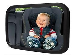 Baby Car Seat Rear View Mirror Adjustable Safe Infant Child