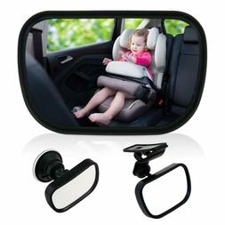 Baby Mirror Back Car Seat Cover for Infant Child Toddler Rea