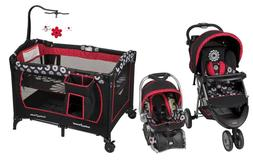 Baby Stroller with Car Seat Travel System Infant Nursery Playard Combo Set