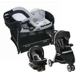 Graco Baby Travel System with Car Seat Combo Playard Nursery