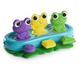 Bright Starts Bop & Giggle Frogs Activity Toy with Melodies,