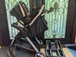 Graco Infant Car seat Stroller Combo Baby Fast Action 4 whee