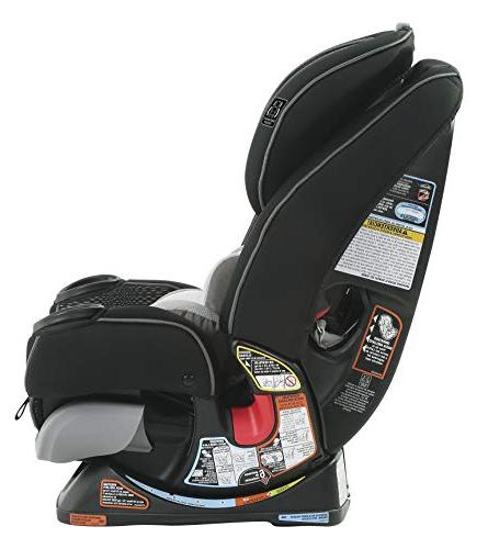 Free Shipping! Graco 4Ever Extend2Fit Platinum 4-in-1 Car Seat in Hurley New!