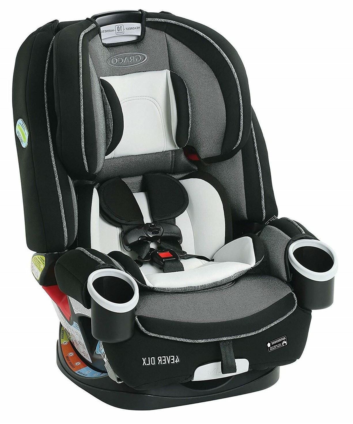 Graco Baby 4Ever DLX 4-in-1 Car Seat Infant Child Safety Fai