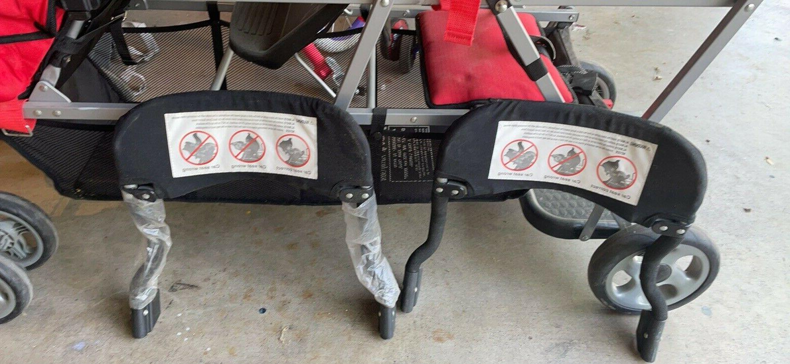 JOOVY Caboose Sit and Stroller 2 holders.