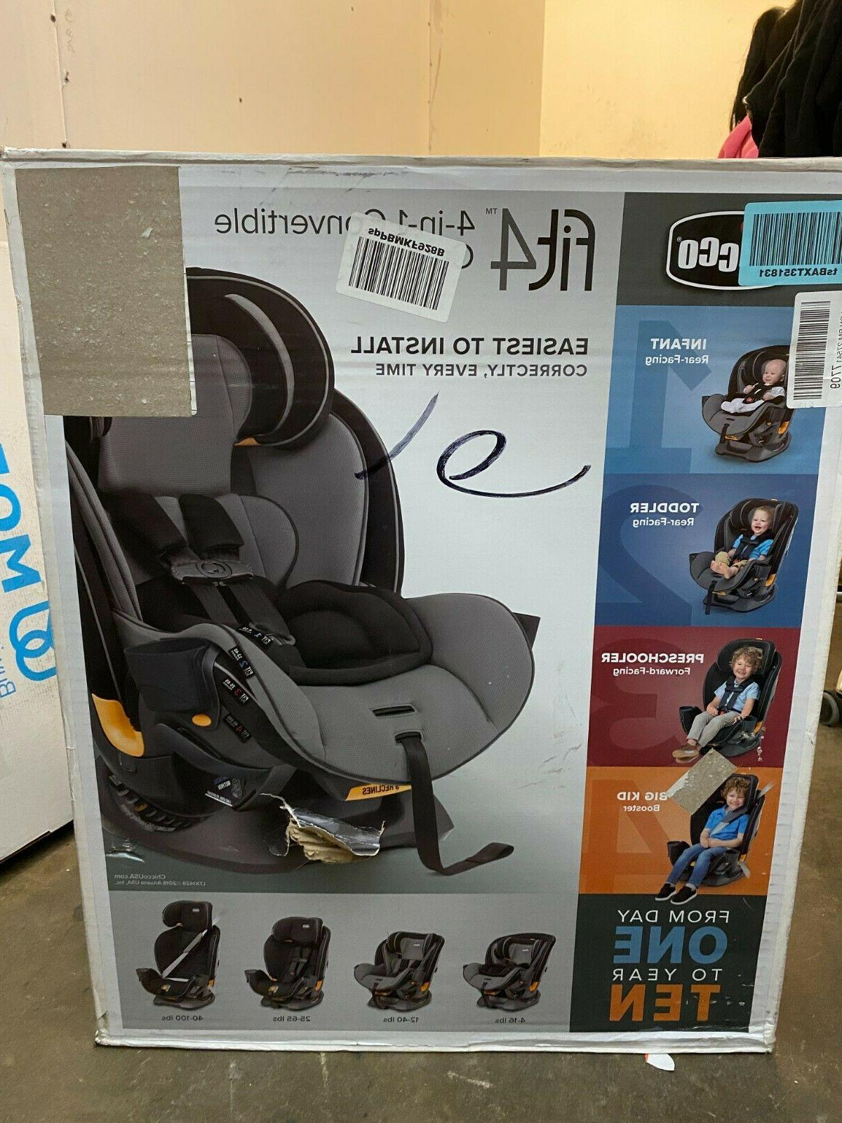 Chicco Fit4 Convertible Child Safety Baby Seat Onyx