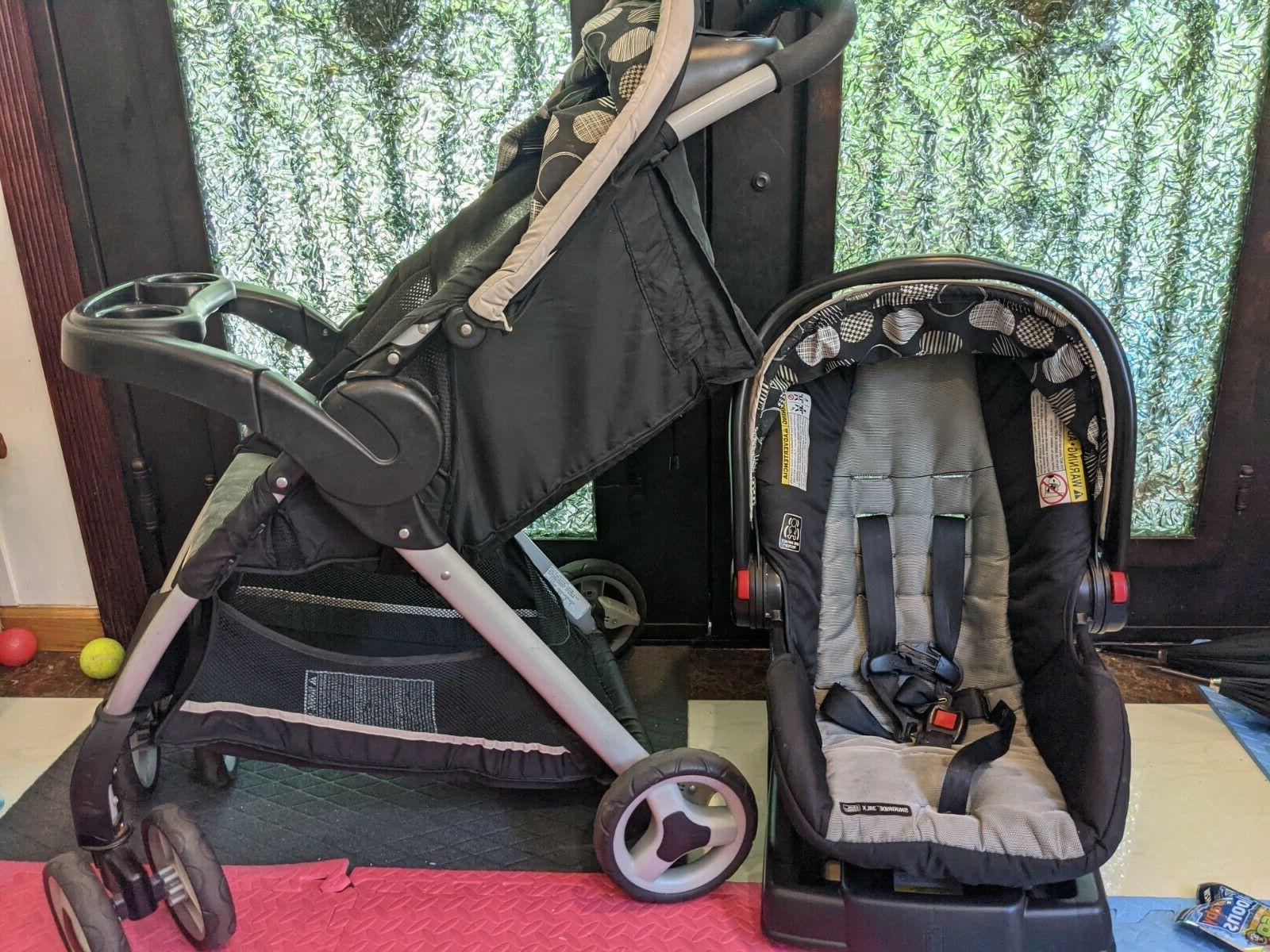 Graco Infant Stroller Combo Action wheel System