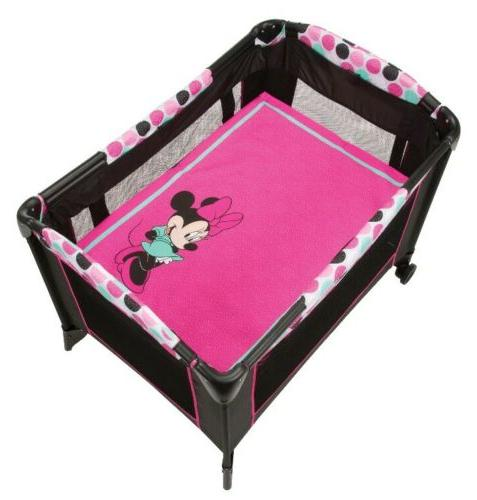 Disney Minnie Mouse Travel System Baby Girl Stroller