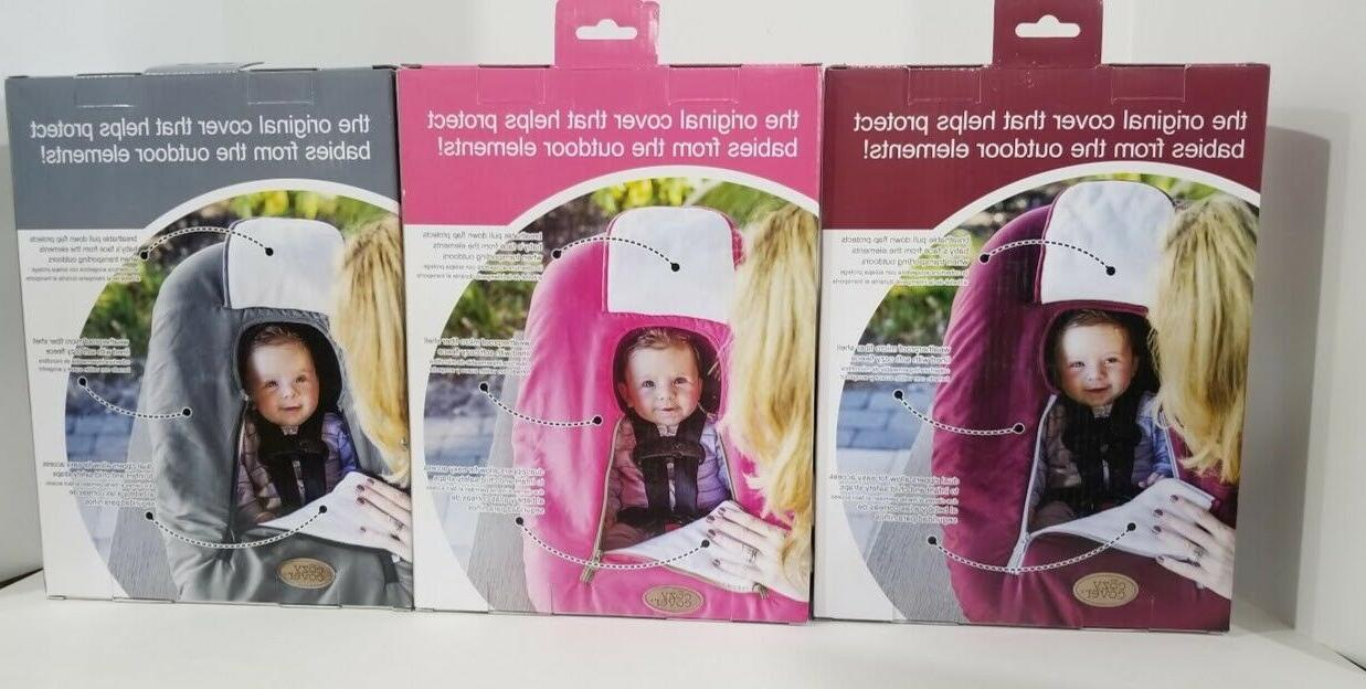 New Cozy Carrier Cover Secure Baby Car Seat Cover Color