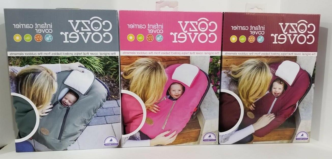 new infant carrier cover secure baby car