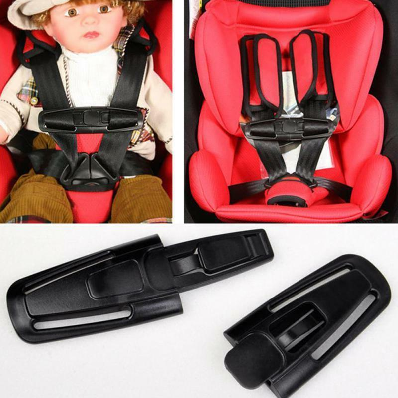 Britax  Car Seat Harness part Clip safety chest baby black p