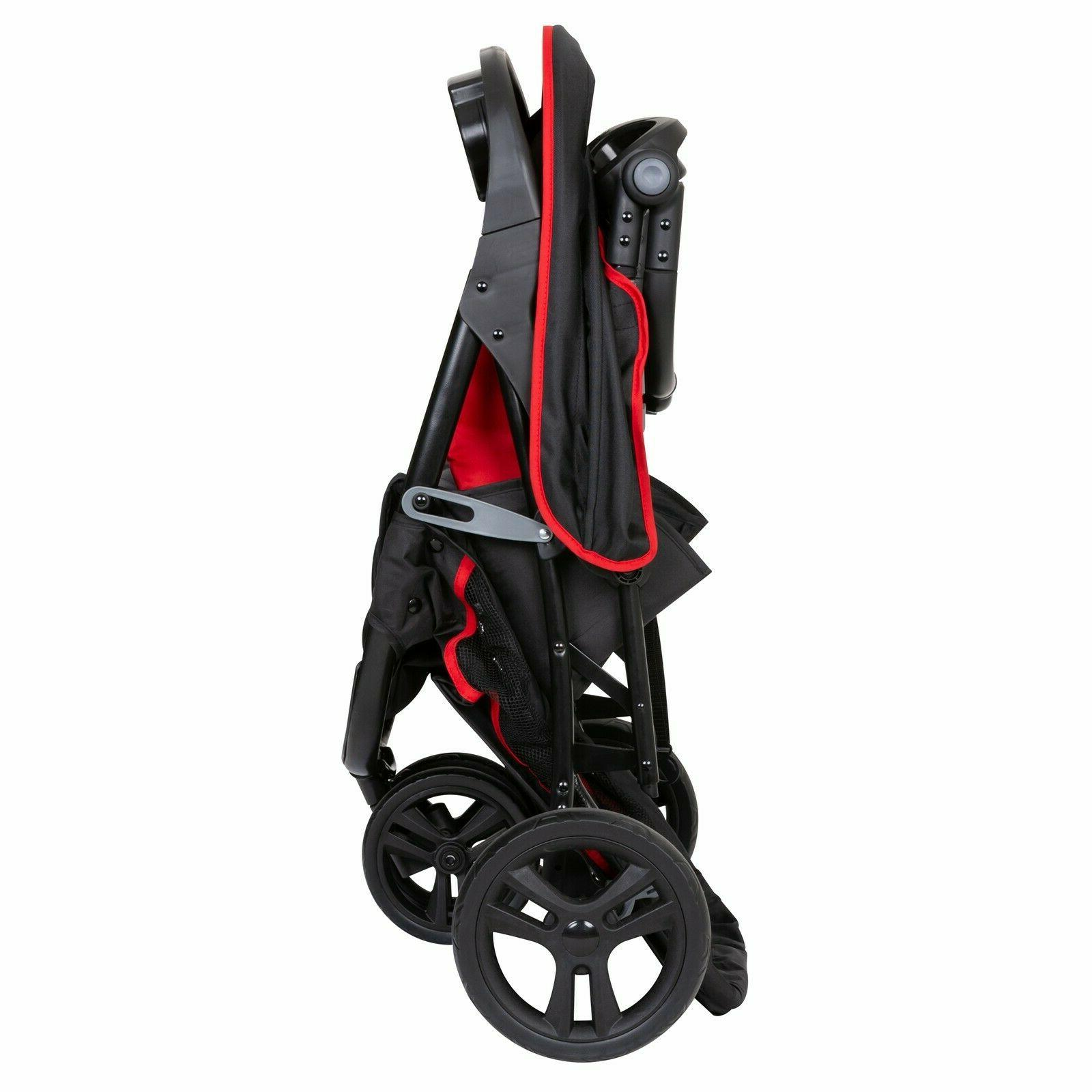 Baby Trend System with Seat Infant Kid Combo Red