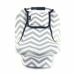 Stretchy Baby Car Seat Covers Car Canopy, Warm Breathable Wi
